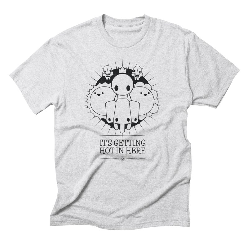 URBAN TALES: IT'S GETTING HOT IN HERE Men's T-Shirt by NOMAKU