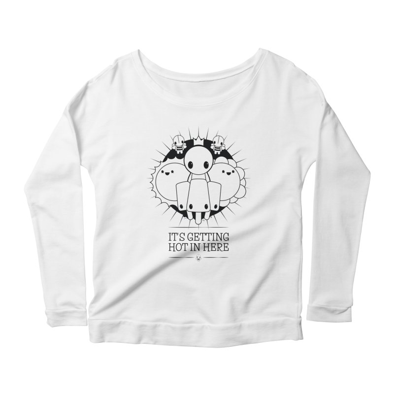 URBAN TALES: IT'S GETTING HOT IN HERE Women's Longsleeve T-Shirt by NOMAKU