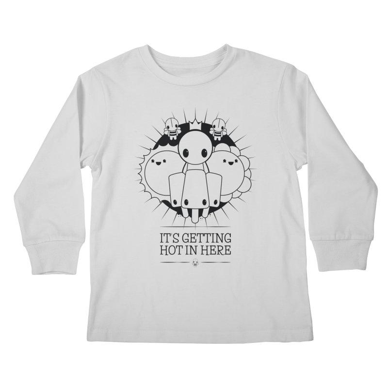 URBAN TALES: IT'S GETTING HOT IN HERE Kids Longsleeve T-Shirt by NOMAKU