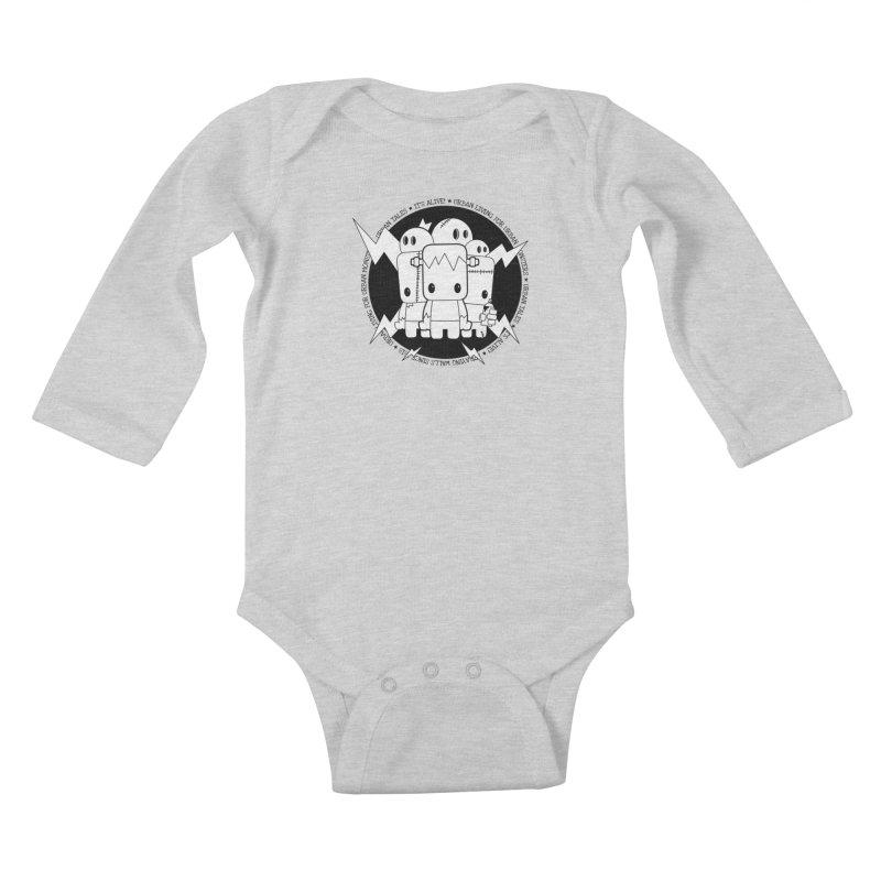 URBAN TALES: IT'S ALIVE! Kids Baby Longsleeve Bodysuit by NOMAKU