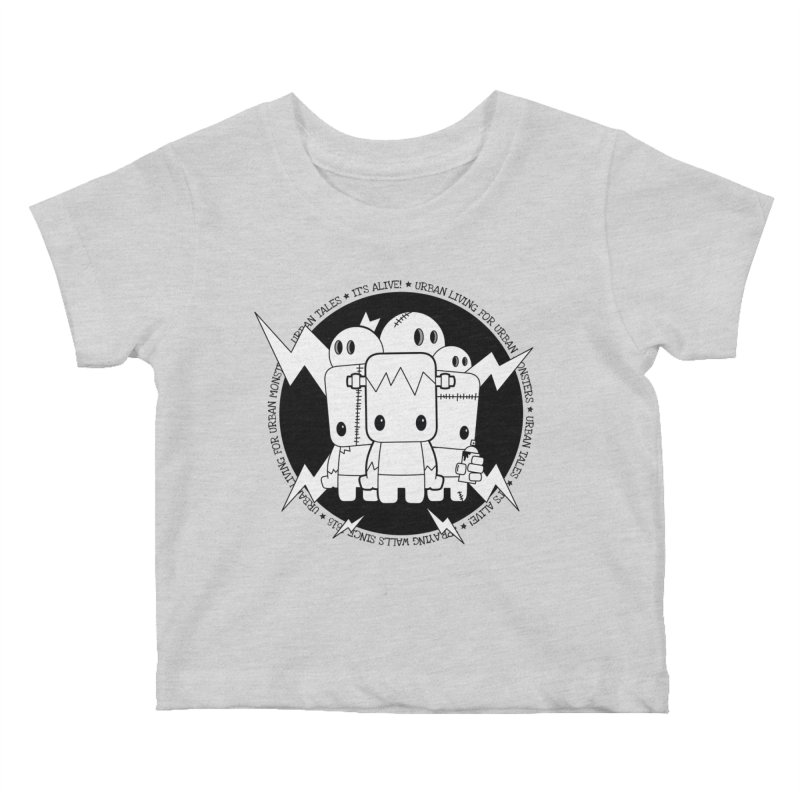 URBAN TALES: IT'S ALIVE! Kids Baby T-Shirt by NOMAKU
