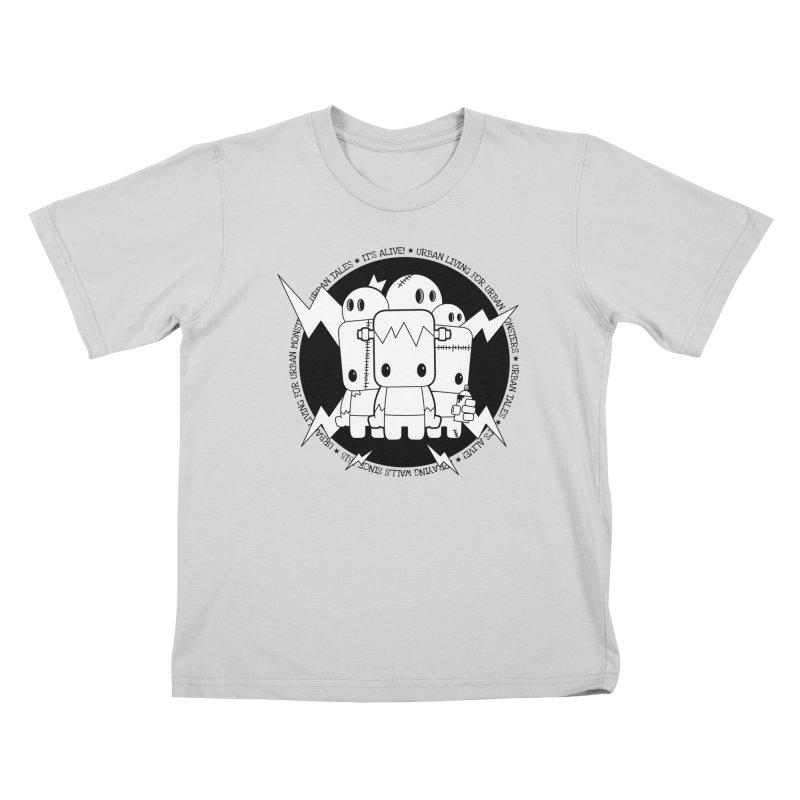 URBAN TALES: IT'S ALIVE! Kids T-Shirt by NOMAKU