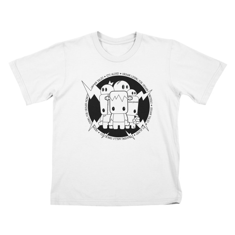 URBAN TALES: IT'S ALIVE! Kids T-Shirt by NOMAKU
