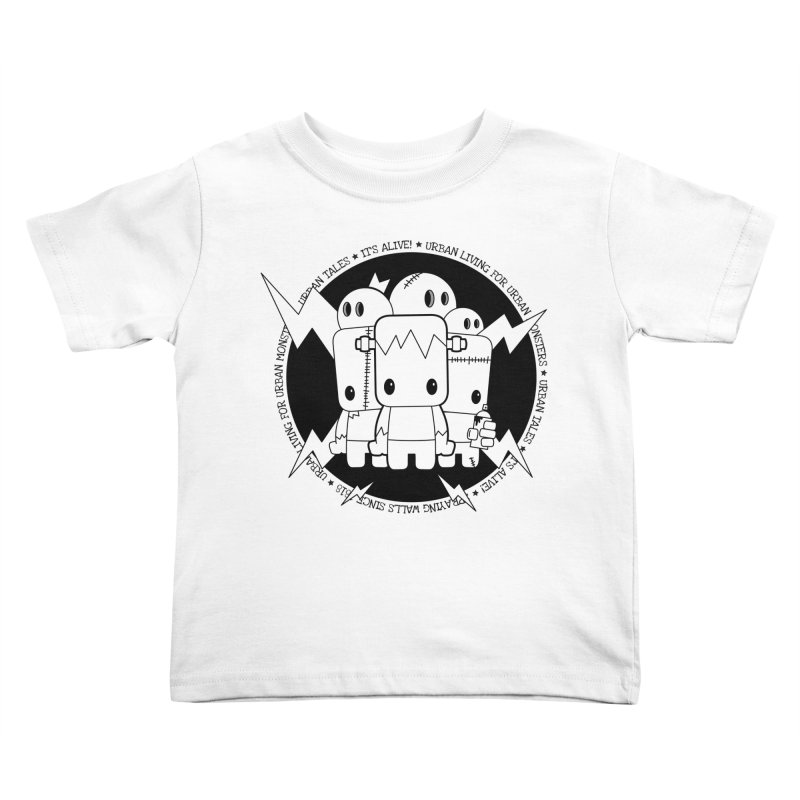 URBAN TALES: IT'S ALIVE! Kids Toddler T-Shirt by NOMAKU