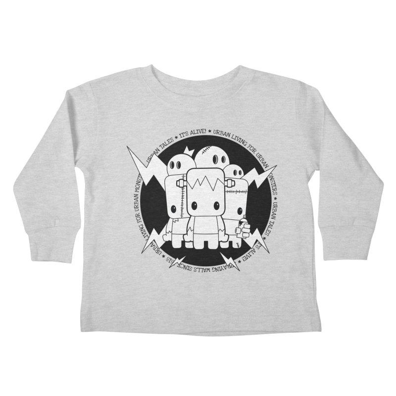 URBAN TALES: IT'S ALIVE! Kids Toddler Longsleeve T-Shirt by NOMAKU