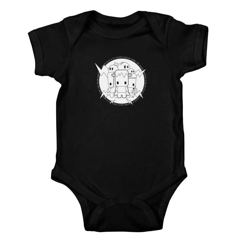 URBAN TALES: IT'S ALIVE! Kids Baby Bodysuit by NOMAKU