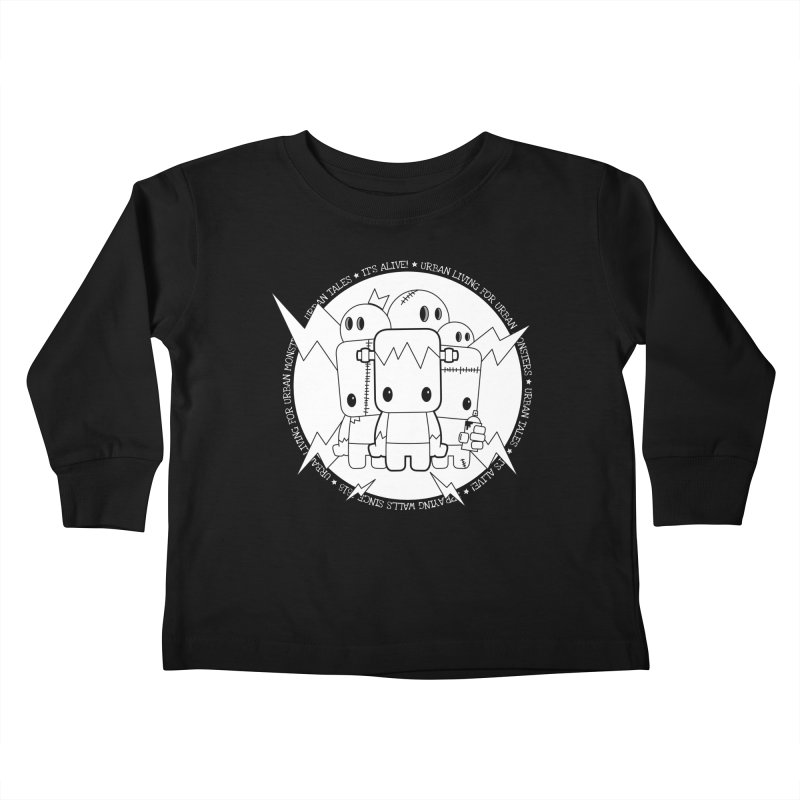 URBAN TALES: IT'S ALIVE! Kids Toddler Longsleeve T-Shirt by NOMAKU
