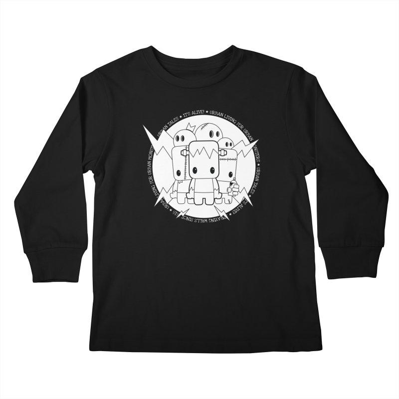 URBAN TALES: IT'S ALIVE! Kids Longsleeve T-Shirt by NOMAKU