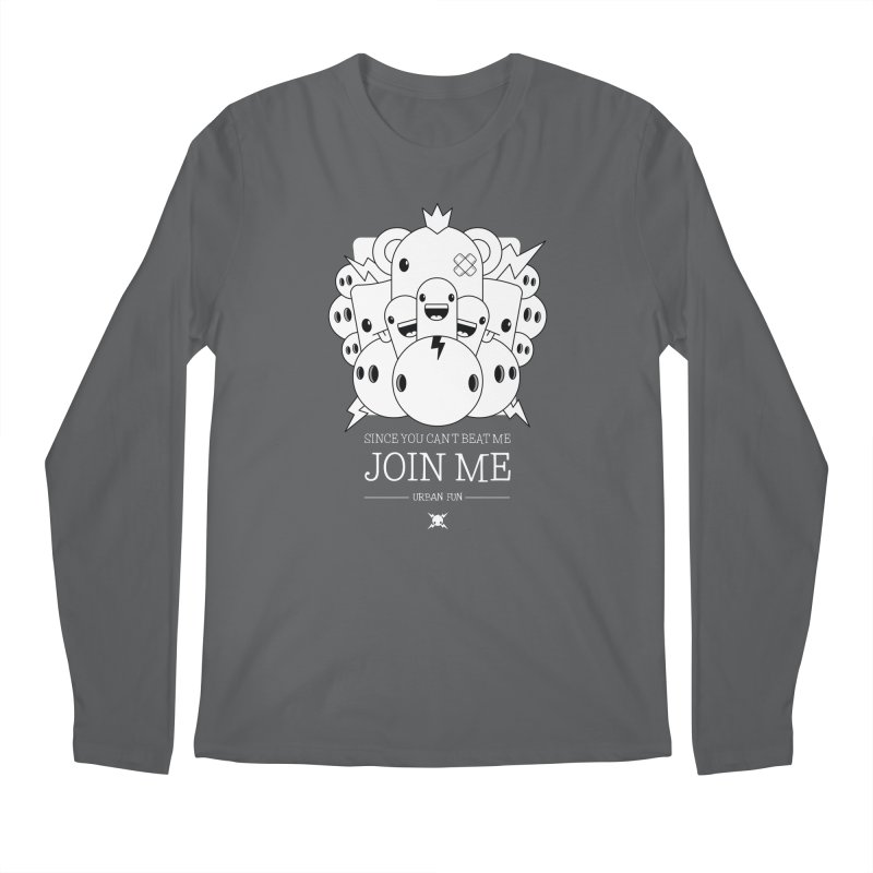 URBAN FUN: JOIN THE CRAZIES Men's Longsleeve T-Shirt by NOMAKU