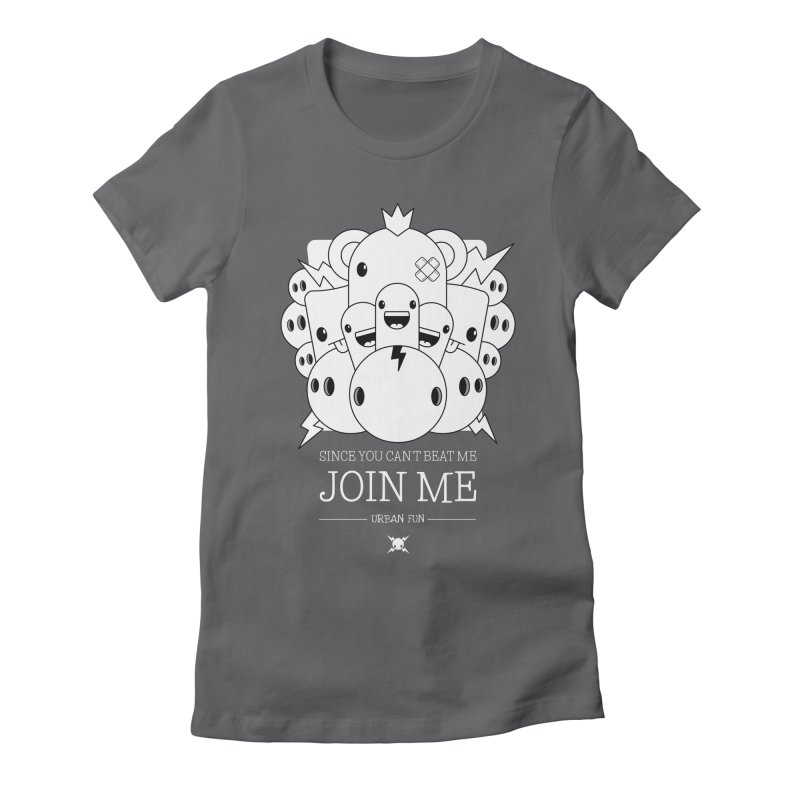 URBAN FUN: JOIN THE CRAZIES Women's T-Shirt by NOMAKU