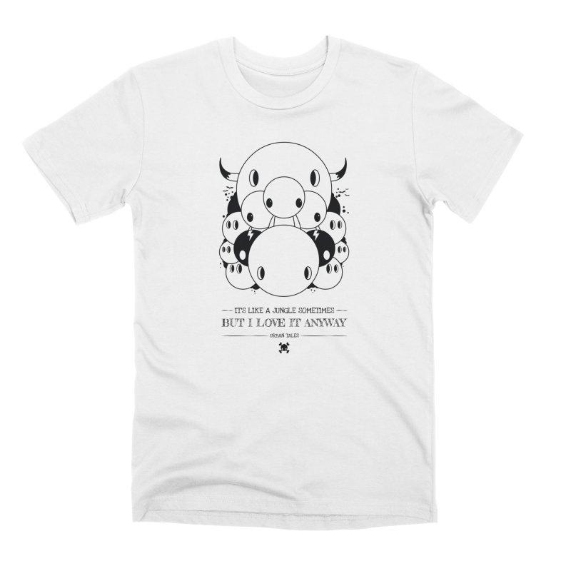 URBAN TALES: IT'S LIKE A JUNGLE SOMETIMES Men's T-Shirt by NOMAKU
