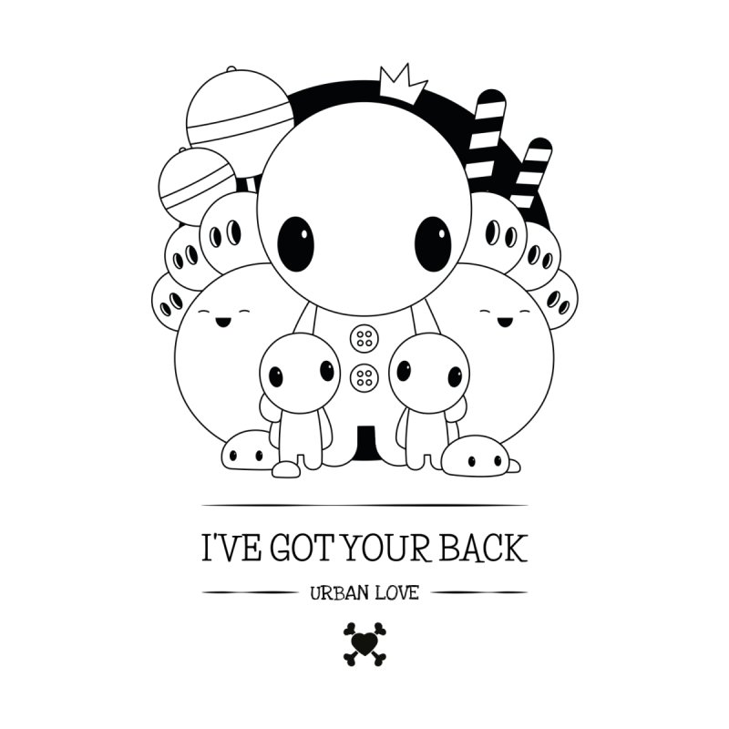 URBAN LOVE: I'VE GOT YOUR BACK Men's V-Neck by NOMAKU
