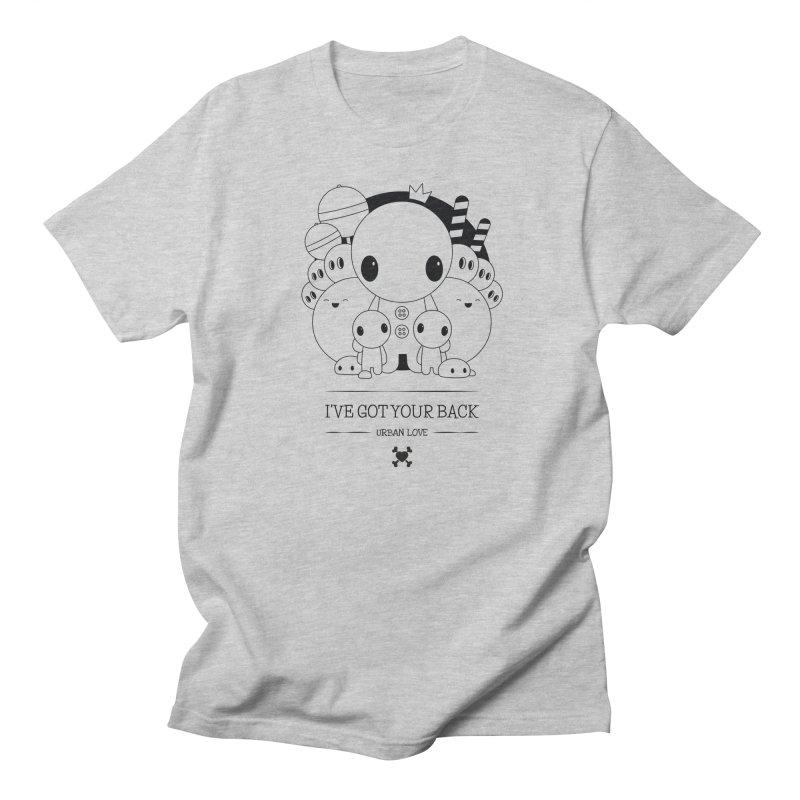 URBAN LOVE: I'VE GOT YOUR BACK Men's T-Shirt by NOMAKU