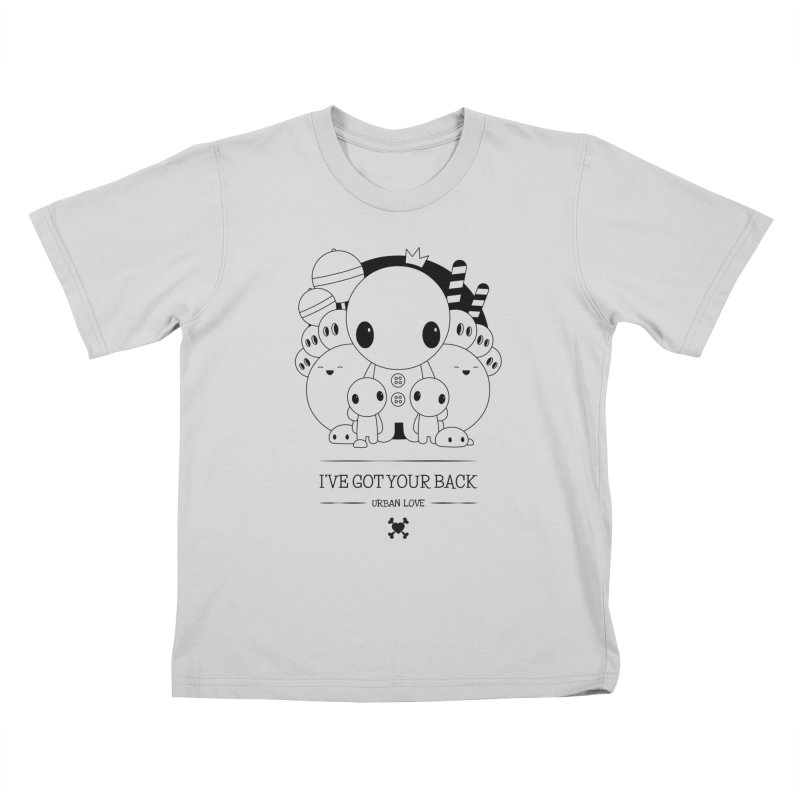 URBAN LOVE: I'VE GOT YOUR BACK Kids T-Shirt by NOMAKU