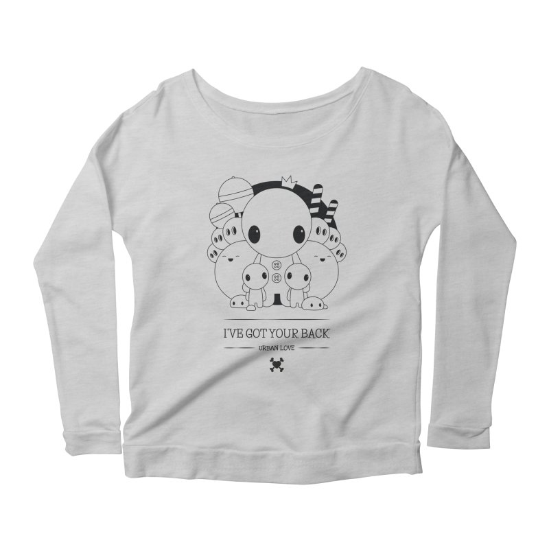 URBAN LOVE: I'VE GOT YOUR BACK Women's Longsleeve T-Shirt by NOMAKU