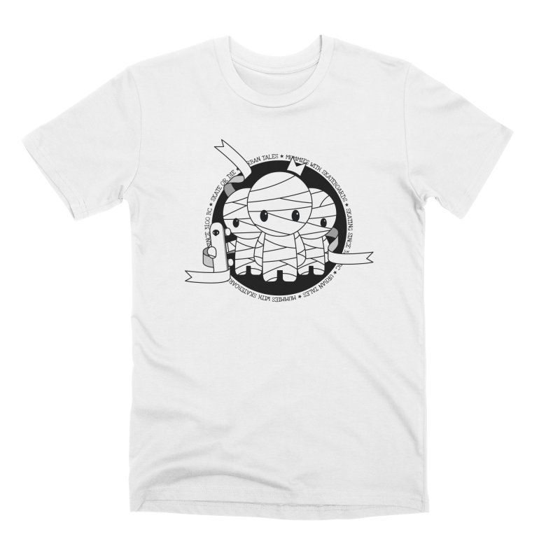 URBAN TALES: MUMMIES WITH SKATEBOARDS Men's T-Shirt by NOMAKU