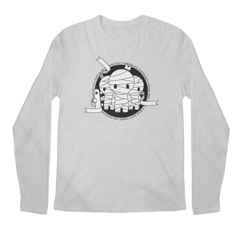 URBAN TALES: MUMMIES WITH SKATEBOARDS Men's Longsleeve T-Shirt by NOMAKU