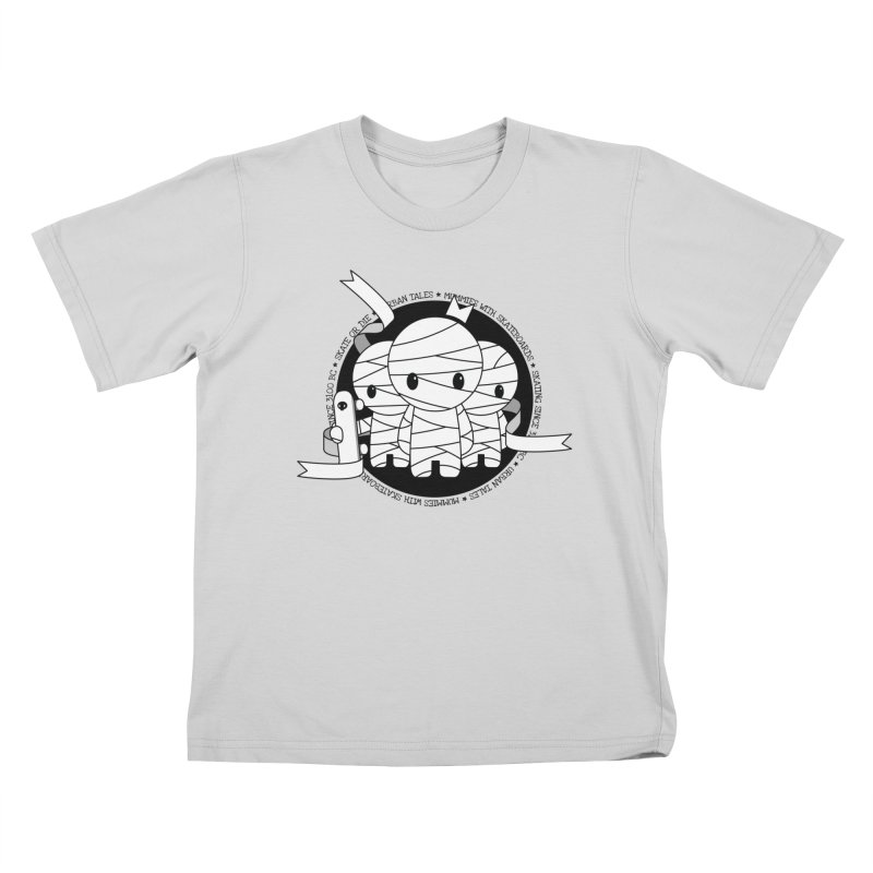 URBAN TALES: MUMMIES WITH SKATEBOARDS Kids T-Shirt by NOMAKU