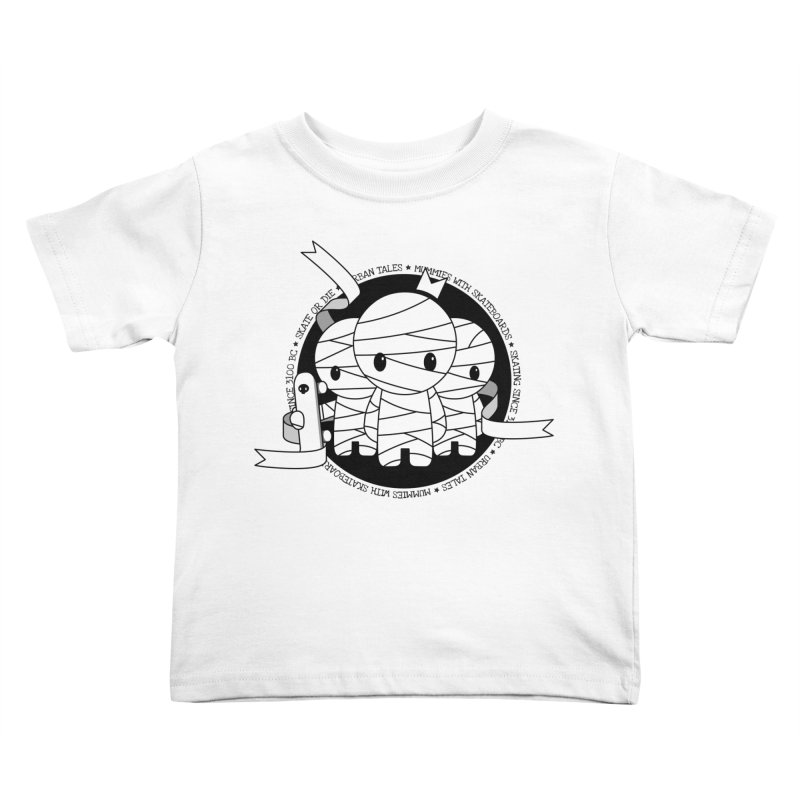 URBAN TALES: MUMMIES WITH SKATEBOARDS Kids Toddler T-Shirt by NOMAKU