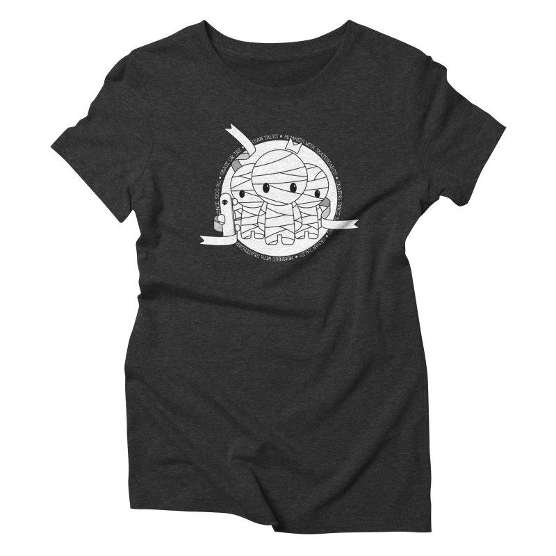 URBAN TALES: MUMMIES WITH SKATEBOARDS Women's T-Shirt by NOMAKU
