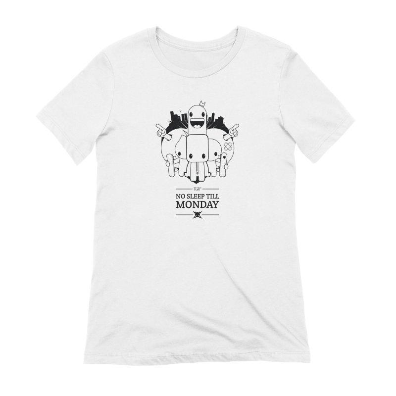URBAN FUN: TGIF Women's T-Shirt by NOMAKU