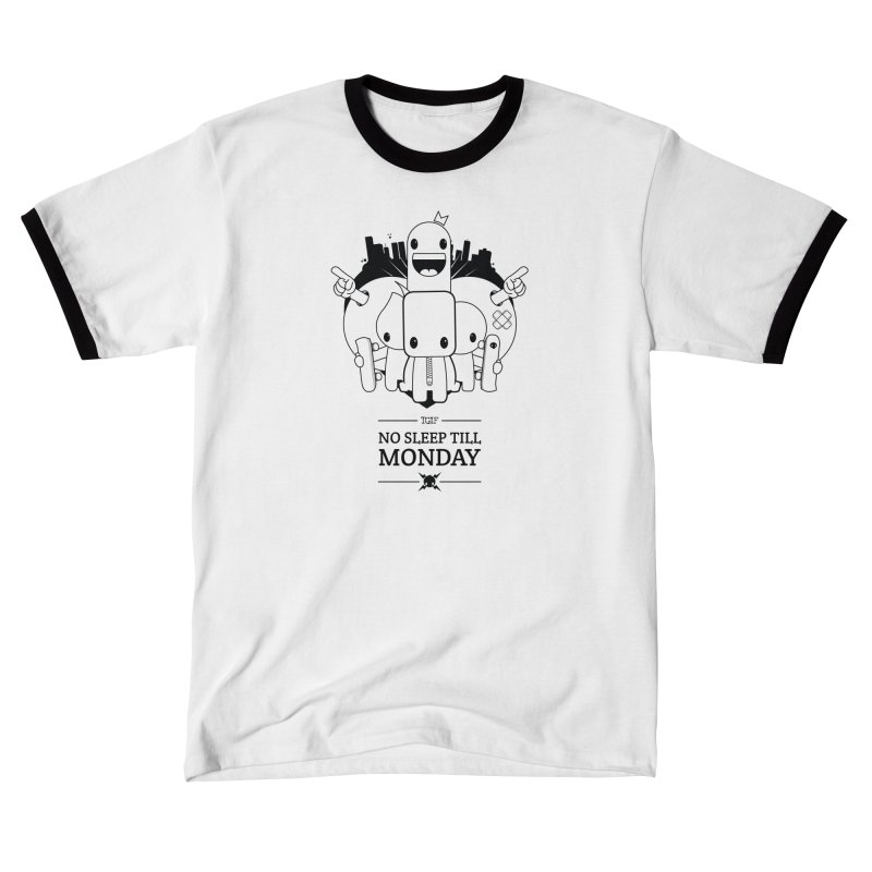 URBAN FUN: TGIF Men's T-Shirt by NOMAKU