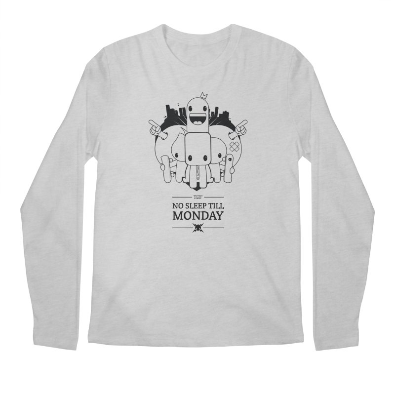 URBAN FUN: TGIF Men's Longsleeve T-Shirt by NOMAKU
