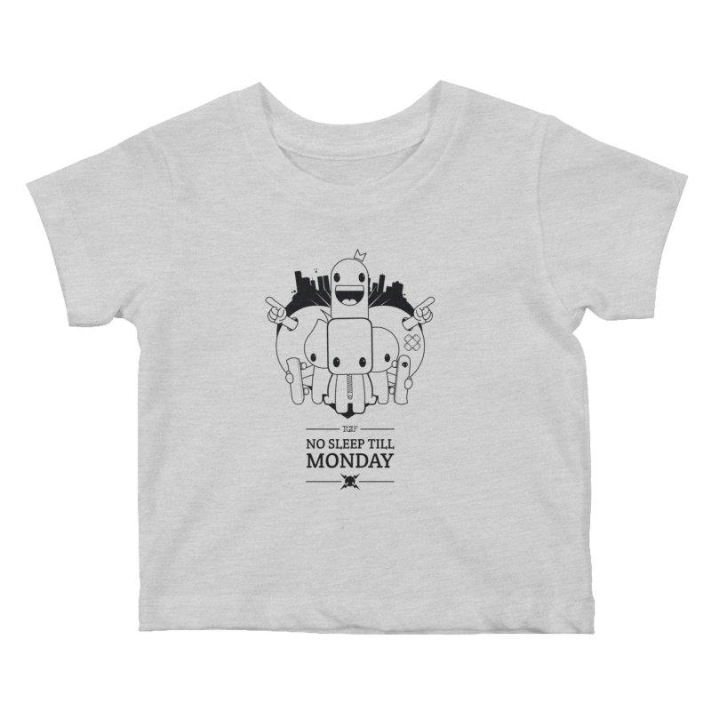 URBAN FUN: TGIF Kids Baby T-Shirt by NOMAKU