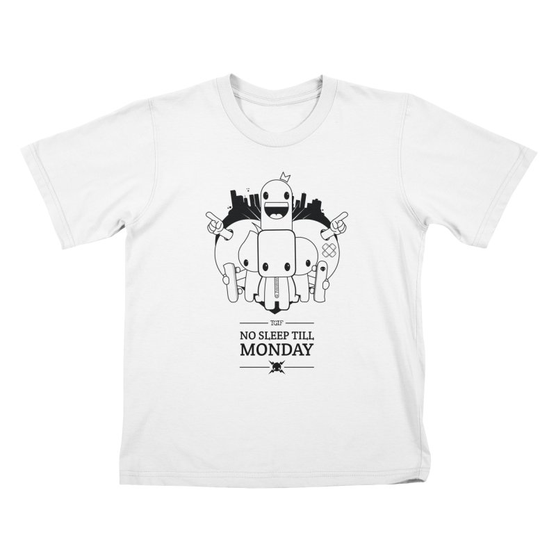 URBAN FUN: TGIF Kids T-Shirt by NOMAKU