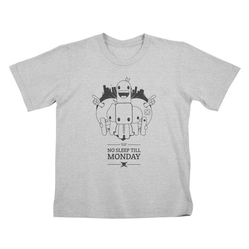 URBAN FUN: TGIF Kids T-Shirt by NOMAKU
