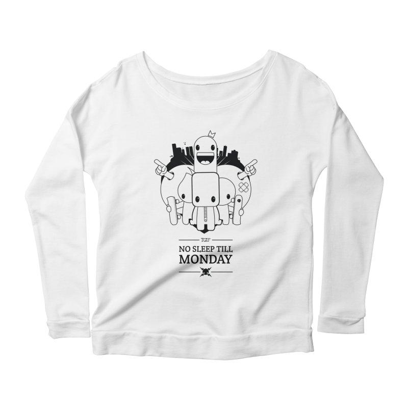 URBAN FUN: TGIF Women's Longsleeve T-Shirt by NOMAKU