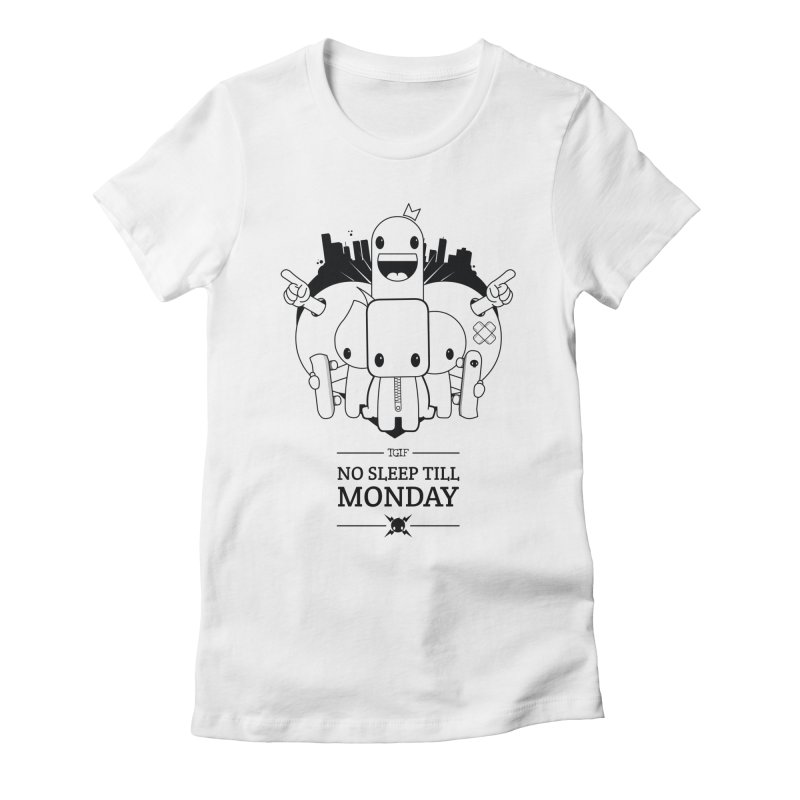 URBAN FUN: TGIF Women's T-Shirt by NOMAKU