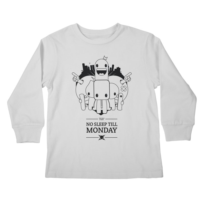 URBAN FUN: TGIF Kids Longsleeve T-Shirt by NOMAKU