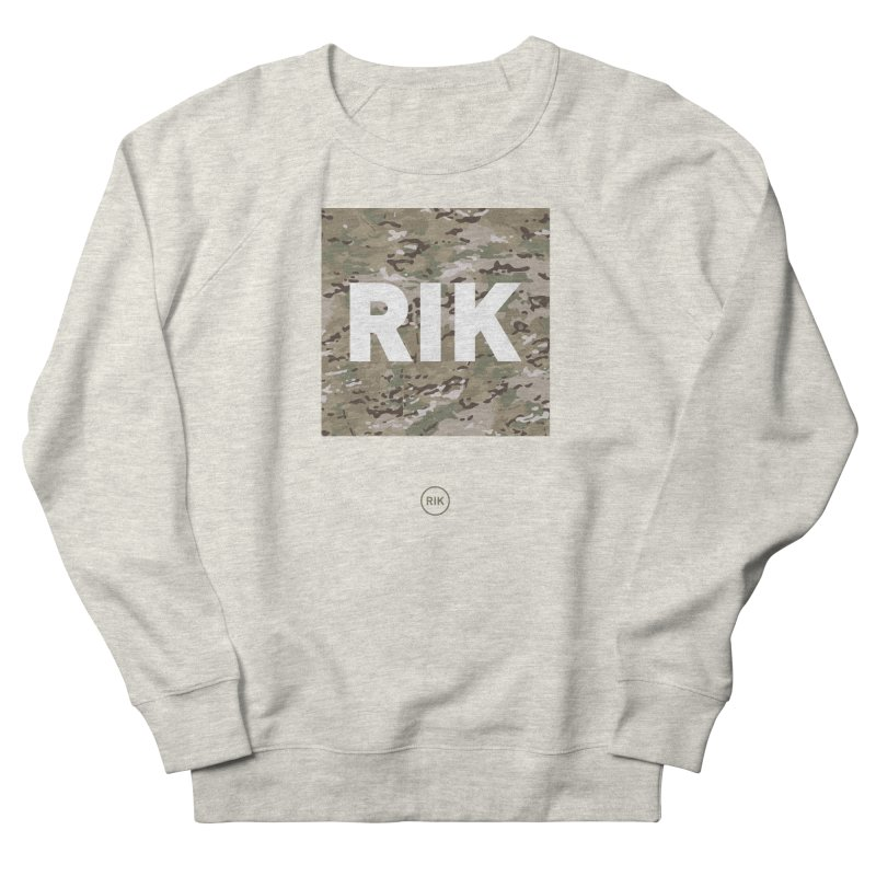 RIK Block (MultiCAM) in Men's Sweatshirt Heather Oatmeal by RIK.Supply
