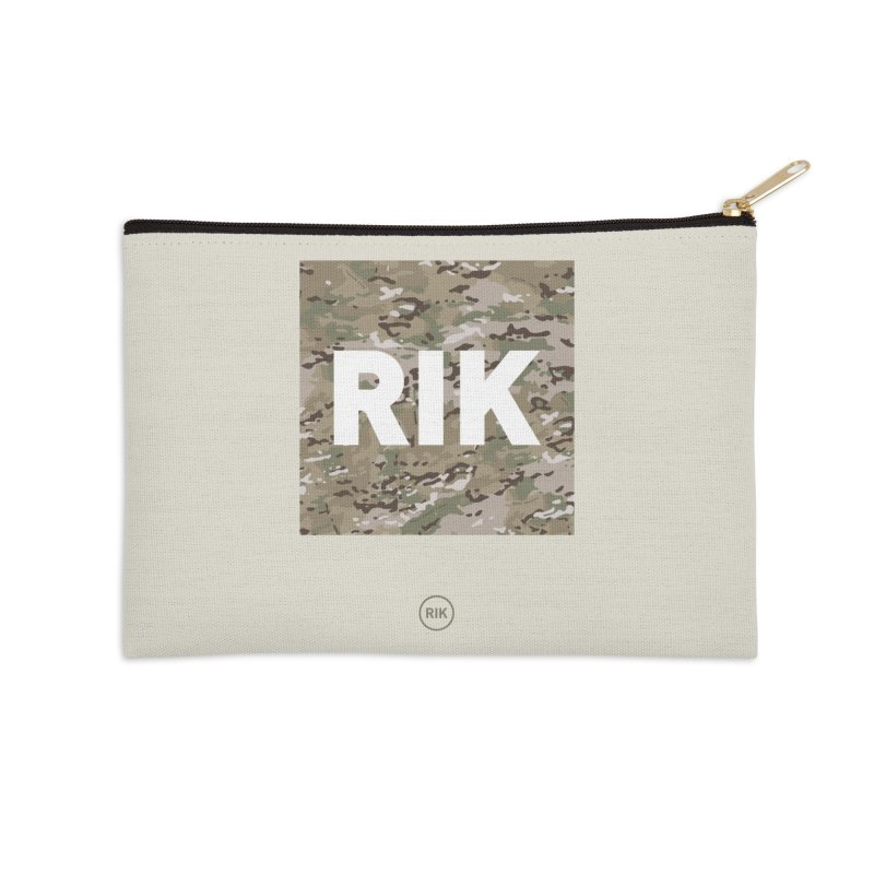 RIK Block (MultiCAM) Accessories Zip Pouch by RIK.Supply