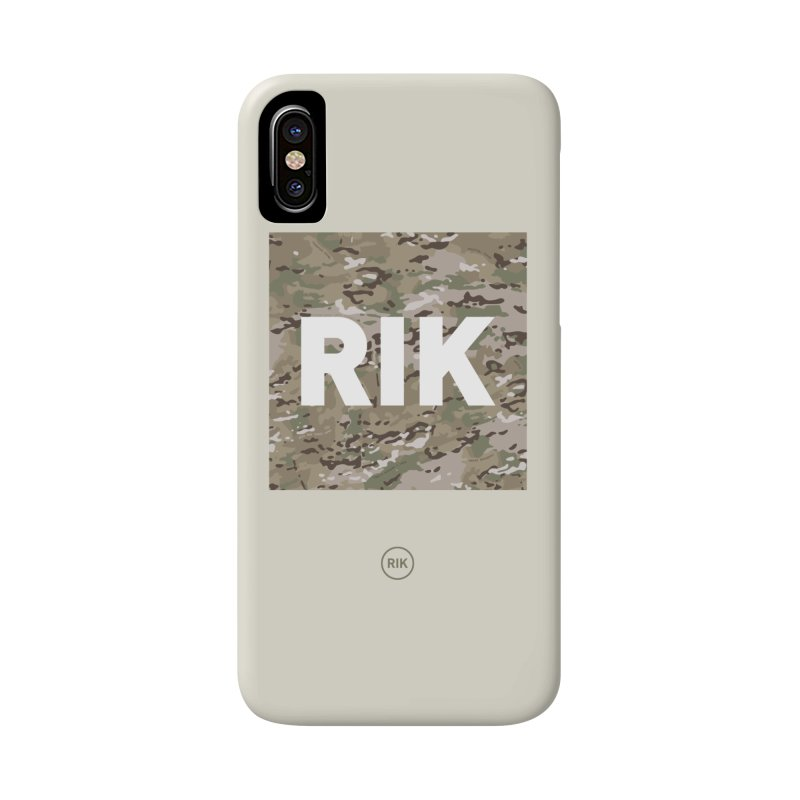 RIK Block (MultiCAM) Accessories Phone Case by RIK.Supply