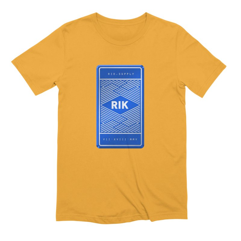 Barz (Royal) Men's Extra Soft T-Shirt by RIK.Supply