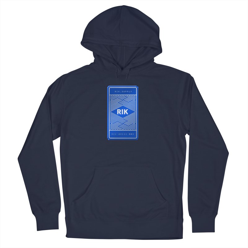 Barz (Royal) Men's French Terry Pullover Hoody by RIK.Supply