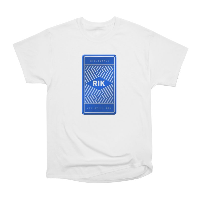Barz (Royal) Men's Heavyweight T-Shirt by RIK.Supply