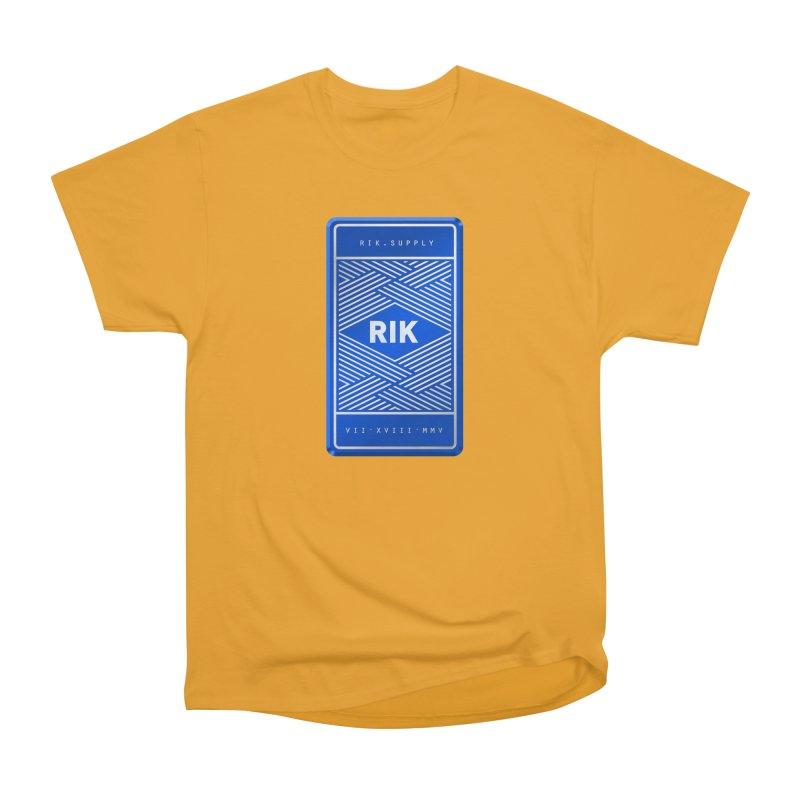 Barz (Royal) Men's Heavyweight T-Shirt by RIK.Supply