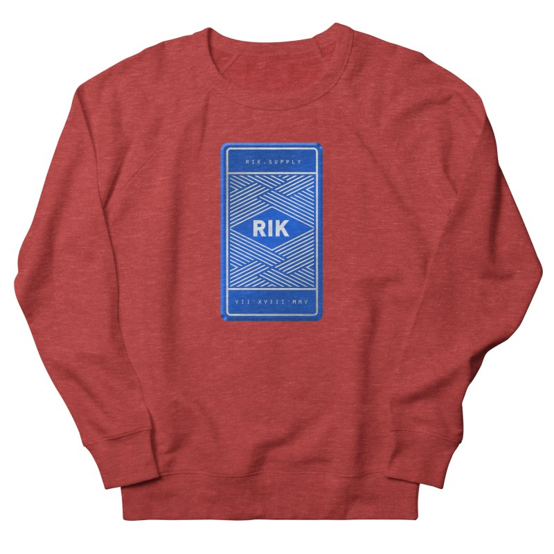 Barz (Royal) Women's Sweatshirt by RIK.Supply