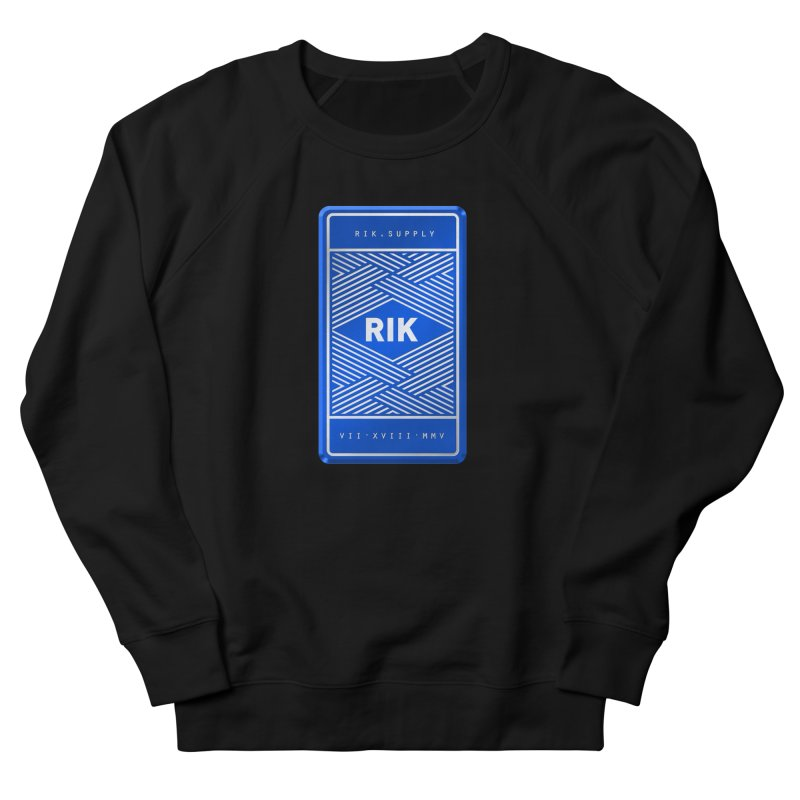 Barz (Royal) Women's French Terry Sweatshirt by RIK.Supply