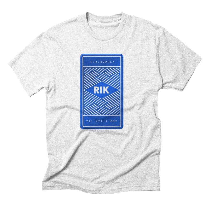 Barz (Royal) Men's Triblend T-shirt by RIK.Supply