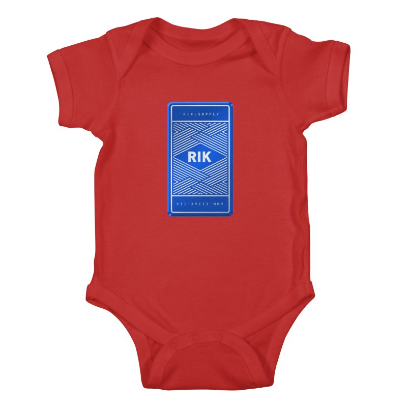 Barz (Royal) Kids Baby Bodysuit by RIK.Supply