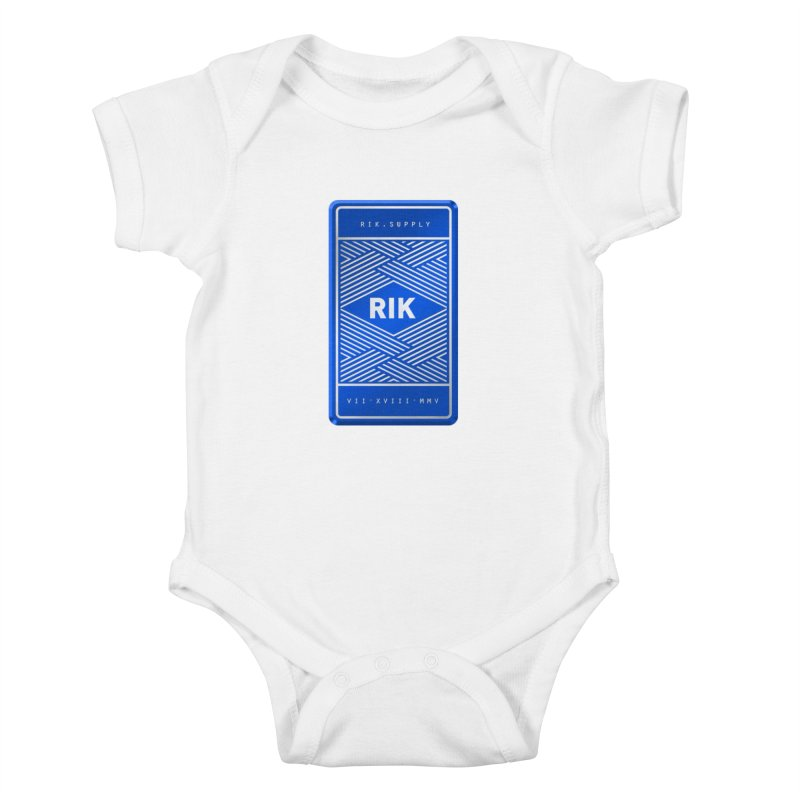 Barz (Royal) Kids Baby Bodysuit by RIK.Supply