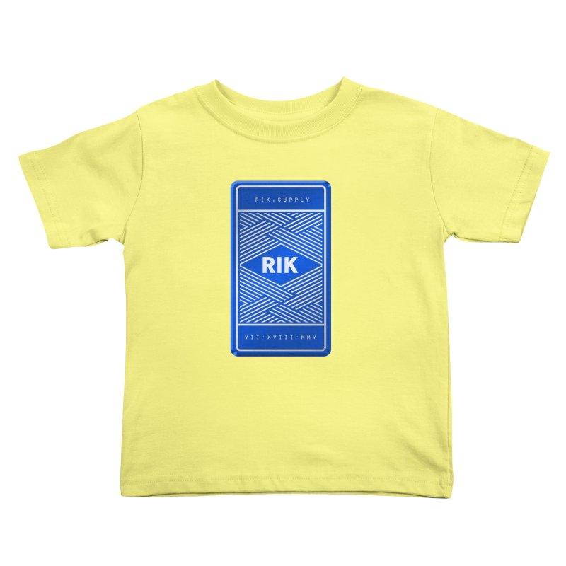 Barz (Royal) Kids Toddler T-Shirt by RIK.Supply