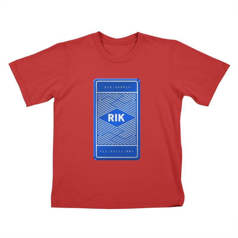Barz (Royal) Kids T-Shirt by RIK.Supply