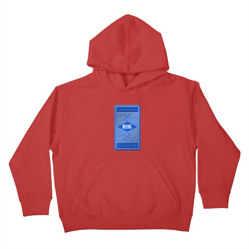 Barz (Royal) Kids Pullover Hoody by RIK.Supply