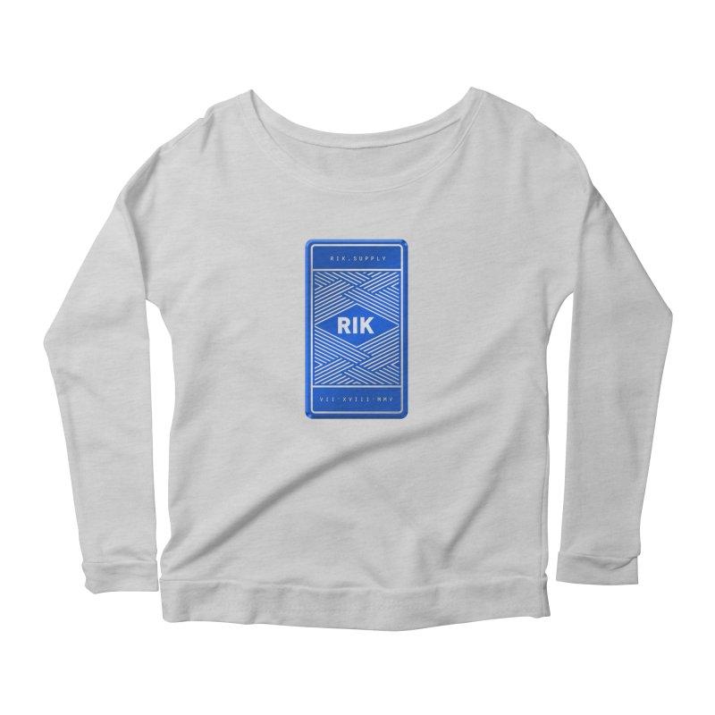 Barz (Royal) Women's Longsleeve T-Shirt by RIK.Supply