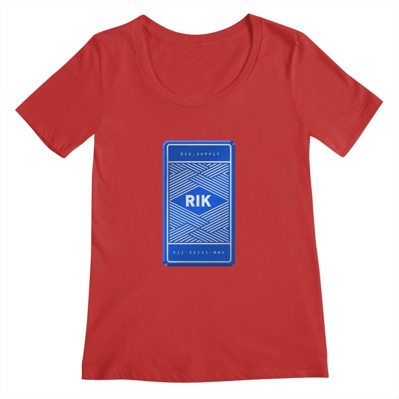 Barz (Royal) Women's Scoopneck by RIK.Supply
